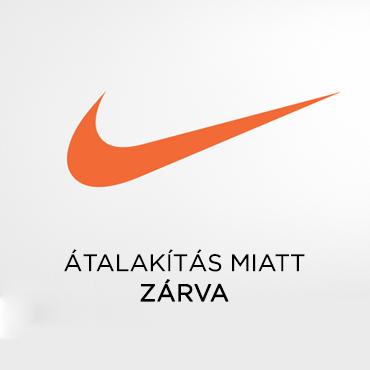 Nike üzletünk felújítása a járványügyi helyzet miatt csúszik.